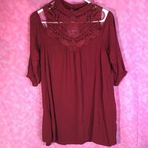 AUW Nice Rust Colored Dress! NWOT! Medium